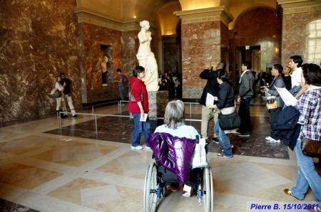 Sortie au Louvre le 15 octobre 2011
