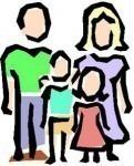 groupe, parents, rencontre