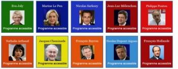 élections, présidentielles, programme, candidats, Valentin Haüy